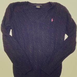 Ralph Lauren knitted v neck sweater